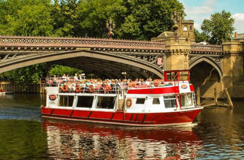 Image City Cruises York Boat
