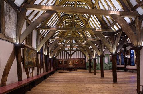 Image of inside the Merchant Adventurer's Hall