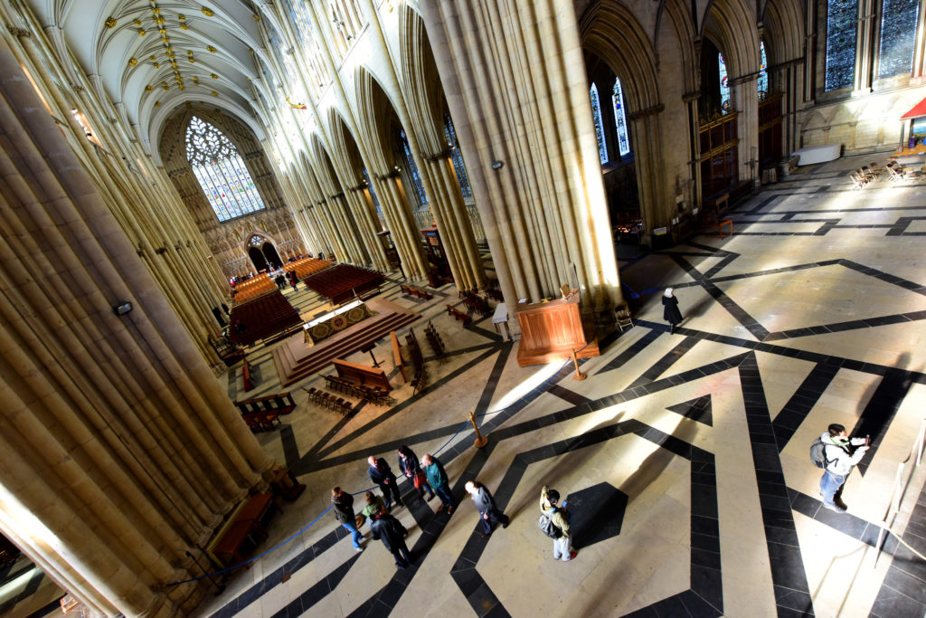 Image of inside York Minster